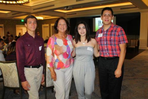Ethan Shaw, Meg Tyre, Abril Lopez Ochoa, Eduardo Rodriguez