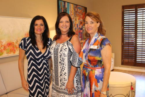 Gabrielle Rumbolo, Rose Gordon, Mary Beth Puzio
