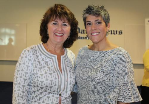 Sue Huff, Kelly Capolino