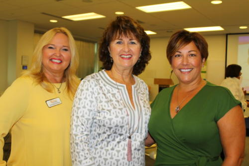 Connie Ramos-Williams, Sue Huff, Tracey Galloway